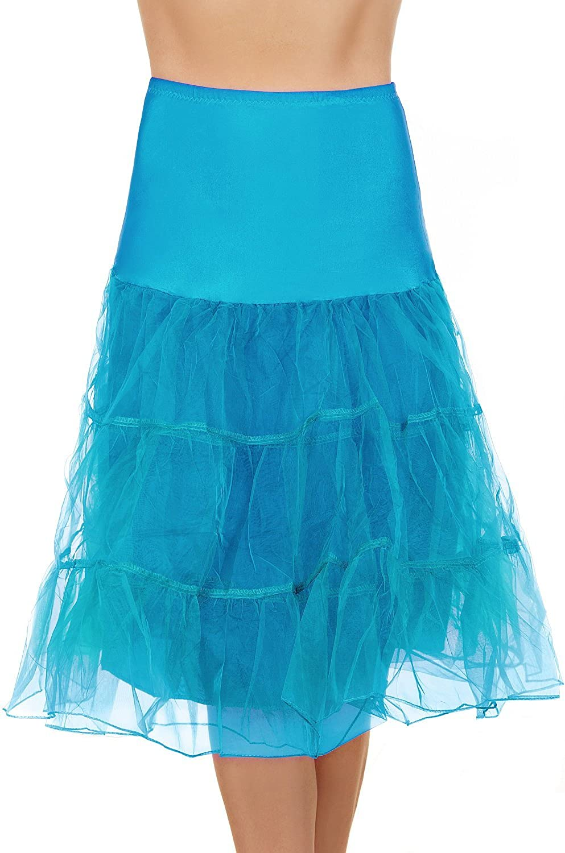 Edelnice Trachtenmode T/üll Petticoat Unterrock