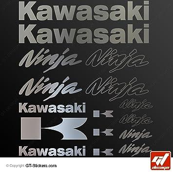 Aufkleber Kawasaki Ninja Chrom Brett 16 Aufkleber