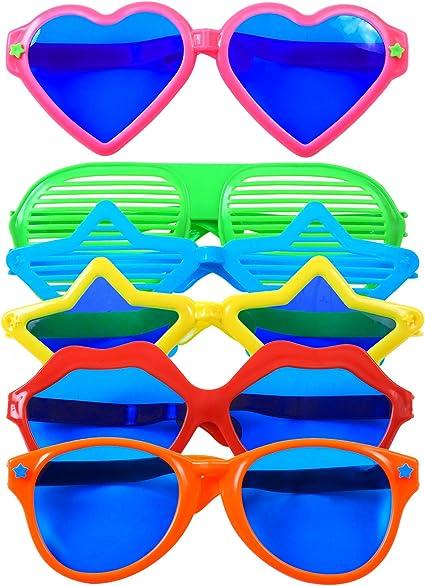 Novelty Jumbo Glasses Sunglasses Fancy Dress Up Costume Party Photo Accessory