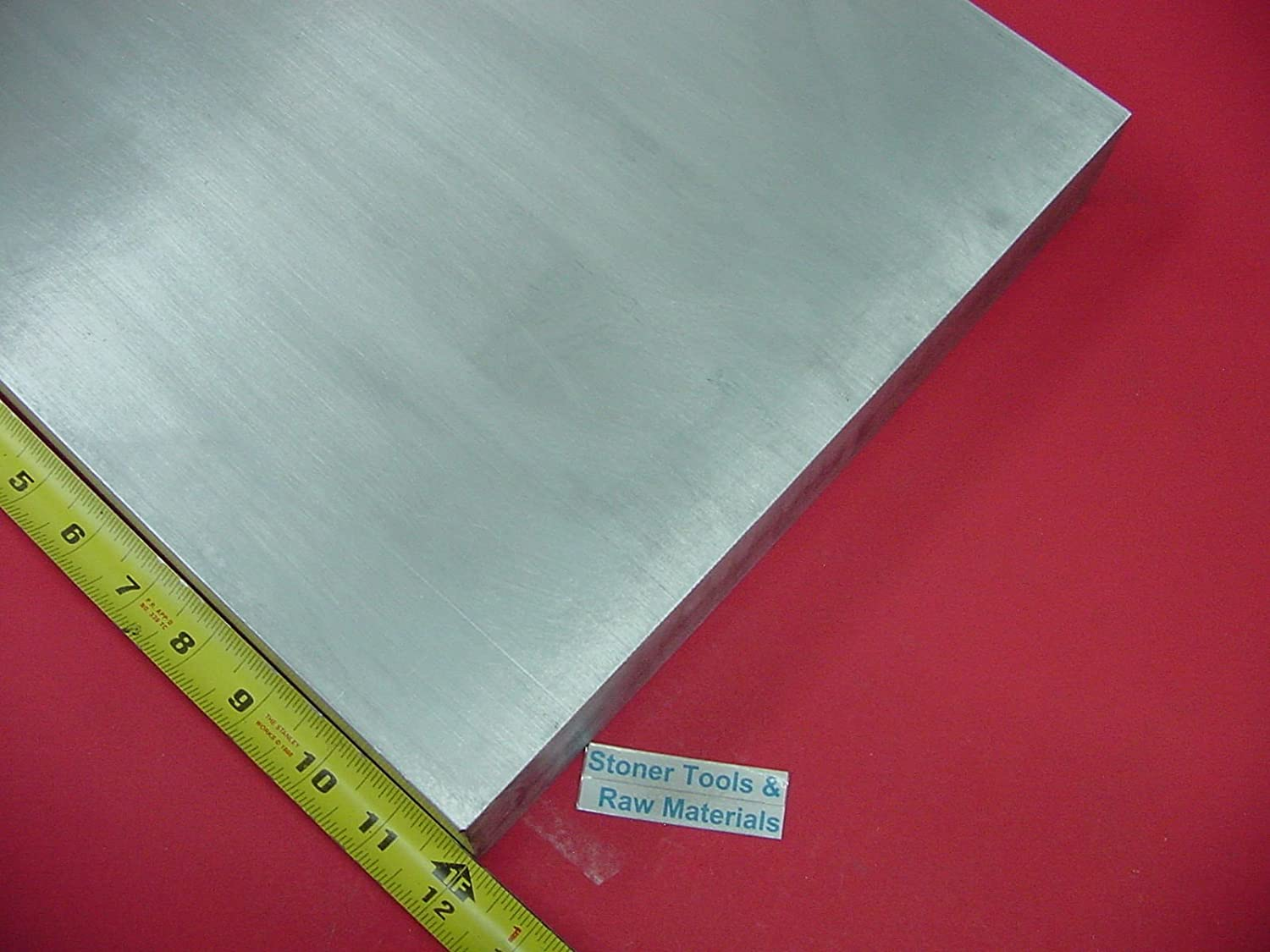 "1//2/"" X 12/"" ALUMINUM 6061 FLAT BAR 13/"" long Solid T6511 .50 Plate Mill Stock"