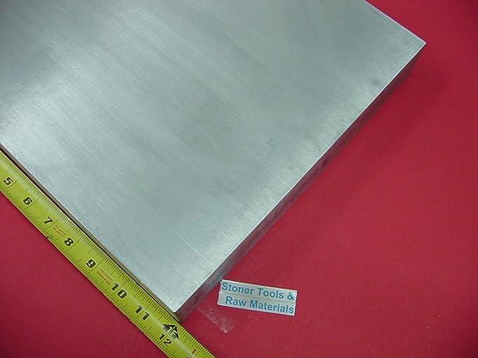 """1/"""" x 2/"""" Aluminum Flat Bar 6061 Plate T6511 Mill Stock 1/"""" 36/"""" Length"""