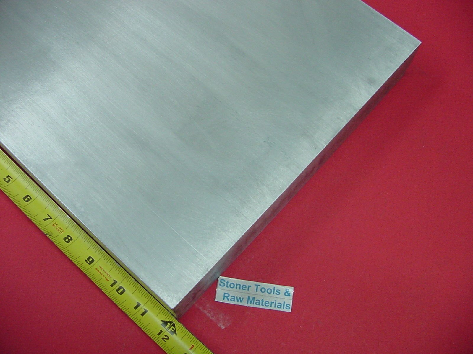 1/2'' X 10'' X 12'' Aluminum 6061 Flat BAR Solid T6511 New Mill Stock Plate. This is Extruded bar not Sanded or Polished and May Have Scratches from handling. by Stoner Metals