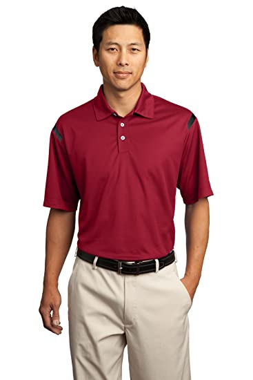 0b8bf86f Nike Golf - Dri-FIT Shoulder Stripe Polo at Amazon Men's Clothing store: