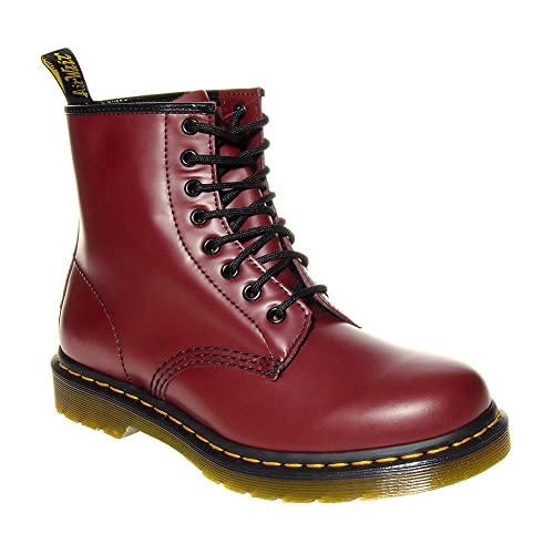 69044d9265 Dr Martens 1460 Smoth Unisex Cherry Boots
