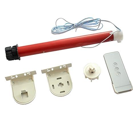 Morningrising 12v Diy Electric Roller Blind Shade Tubular 25mm Motor Kit Remote Controller