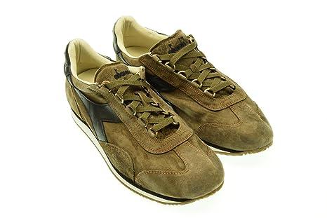 Heritage Equipe S Uomo Diadora Marrone Sneakers Sw In Camoscio 4dPq5xw5