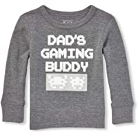 77bdee6f8 The Children's Place Baby Boys' Graphic Long Sleeve T-Shirt