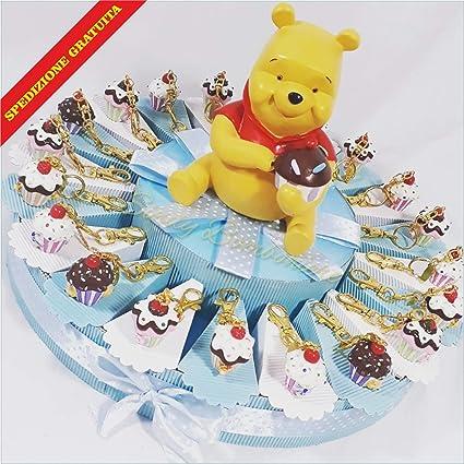 Tarta Decoración Cupcake llavero Winnie the Pooh envío ...