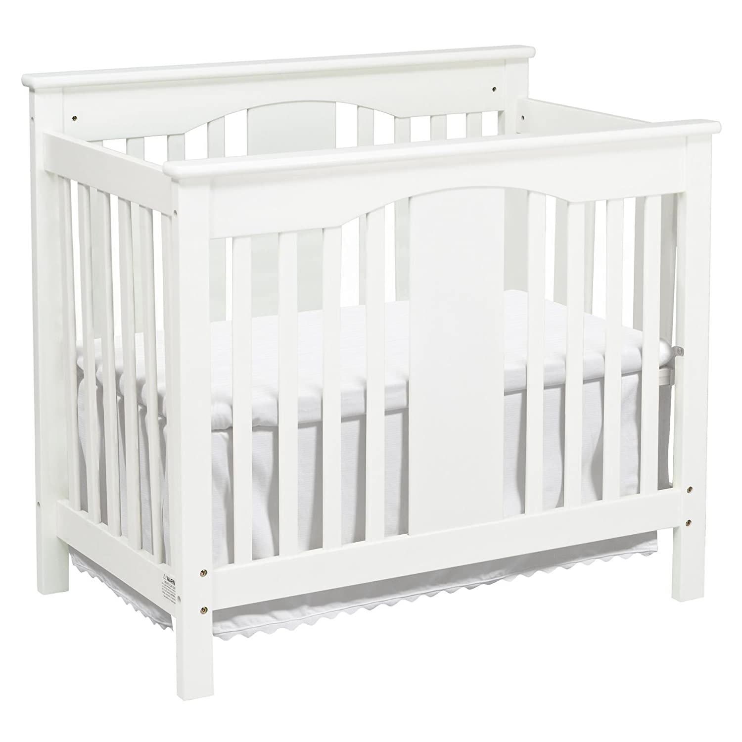 DaVinci Annabelle 2-in-1Mini Crib and Twin Bed, Espresso M5998Q