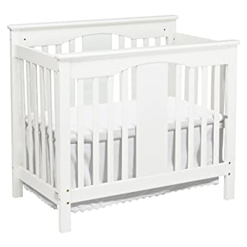 Amazon Com Davinci Annabelle 2 In 1 Mini Crib And Twin Bed White