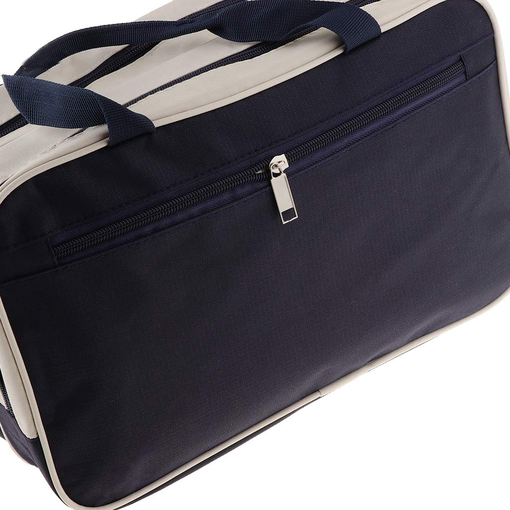 Fityle Durable Waterproof Dry Wet Separation Beach Bag Travel Storage Swimming Tote Handbag