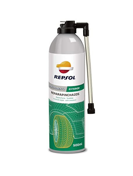 REPSOL REPARA PINCHAZOS SPRAY 500 ML