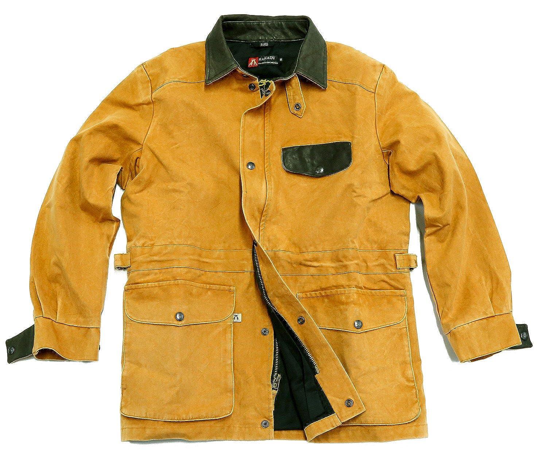 Kakadu Australia Men's Jacket brown mustard One Size
