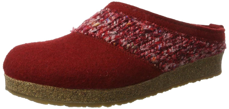 Haflinger Grizzly Anke, Zapatillas de Estar por Casa Unisex Adulto 38 EU|Rojo (Rubin 211)