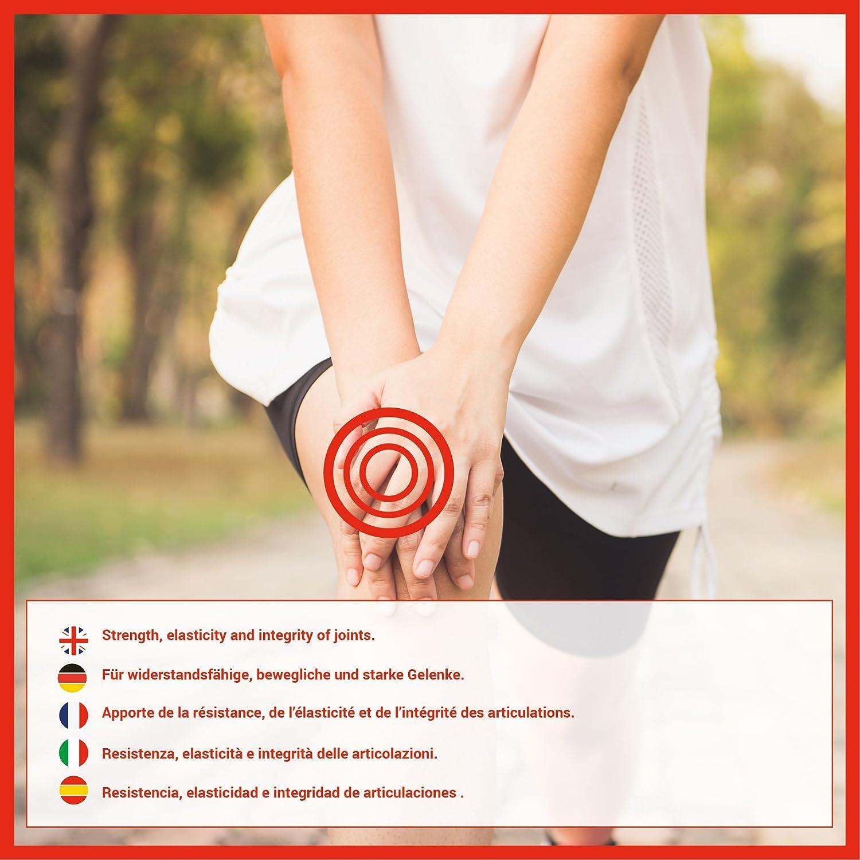Colágeno hidrolizado con calcio para huesos y articulaciones - Colágeno con vitamina C y vitamina D para ayudar a la energía del día a día (180): Amazon.es: ...