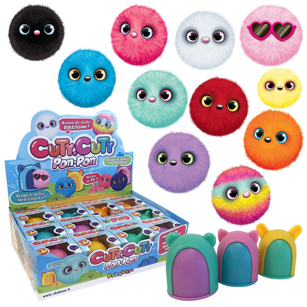 Pack de 3 Peluches Muy Suaves SBABAM 147-18