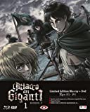 L' Attacco Dei Giganti - Stagione 02 #01 (Eps 01-04) (Ldt) (Blu-Ray+Dvd)