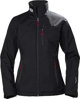 Helly Hansen Crew Midlayer Fleece Lined Waterproof Windproof Breathable Rain Coat Jacket