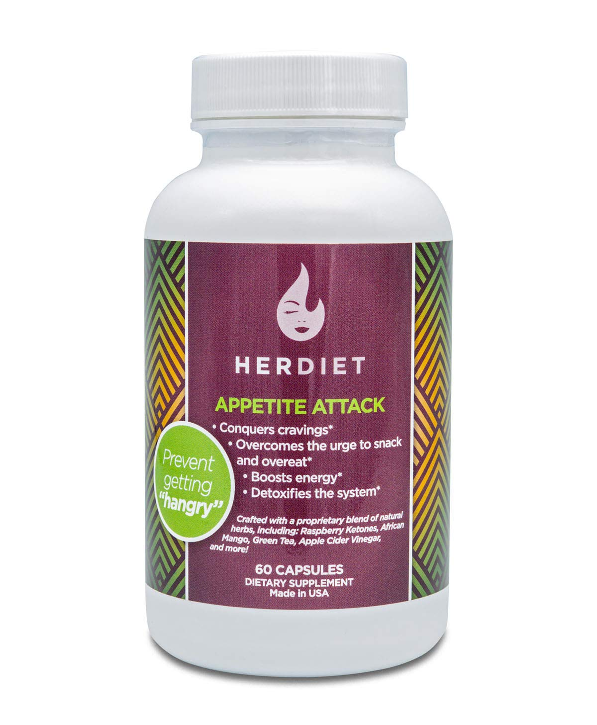Her Diet Appetite Attack - Weight Loss Pills for Women - Ultra Strength Appetite Suppressant - Thermogenic Weight Loss Supplement - Prevent Overeating - Curb Cravings by HER DIET