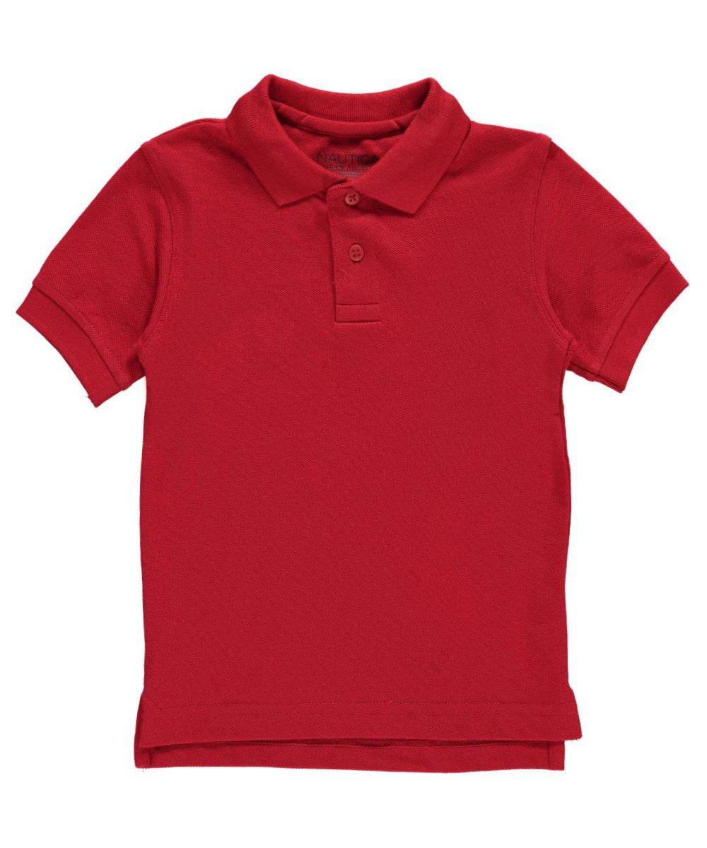 Nautica Little Boys' Toddler School Uniform Pique Polo