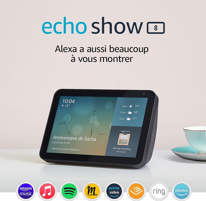 Echo Show 8 (1e génération, modèle 2019)   Écran connecté avec Alexa...