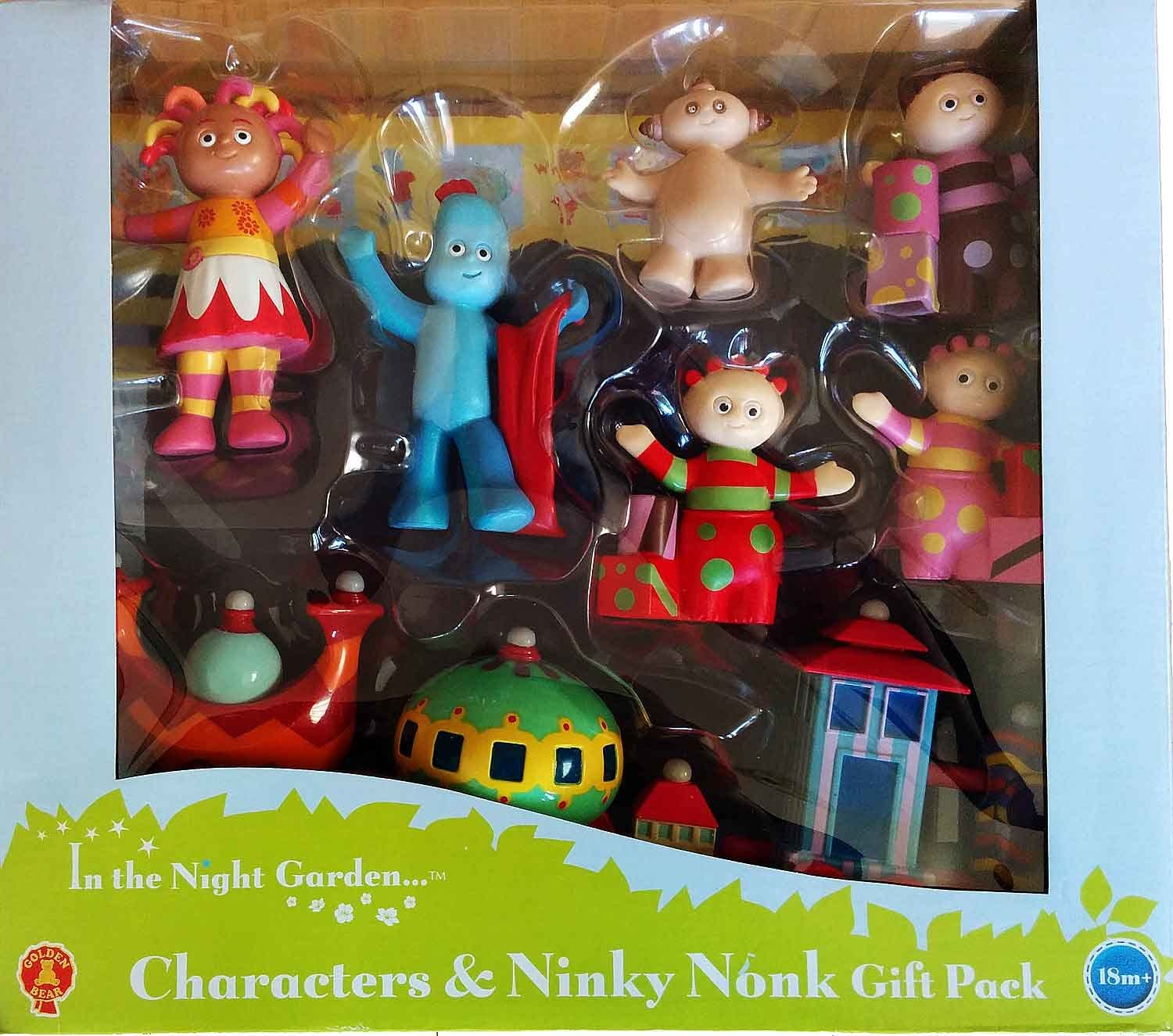 In the Night Garden 6 figurine personnage Cadeau Pack Inc Igglepiggle et Upsy Daisy