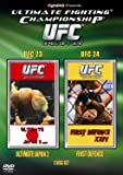 UFC Ultimate Fighting Championship 23 and 24 [DVD]