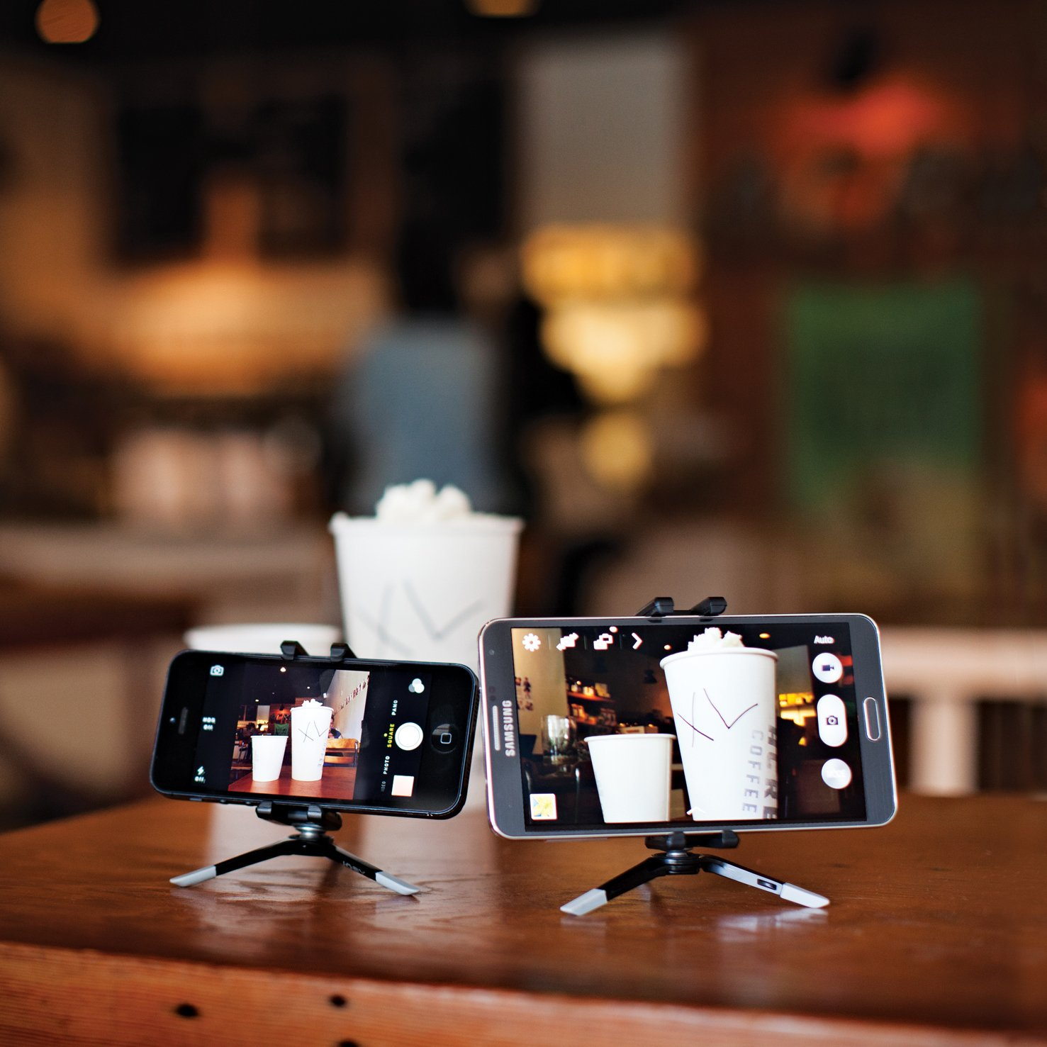 JOBY GripTight Micro Stand For Smaller Smartphones - An Ultra Compact and Portable Smartphone Stand for iPhone 6, iPhone 7, iPhone 8 and More by Joby