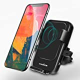 Wireless Car Charger,FOGEEK 2 in 1 Qi Wireless Car Charger Mount, Air Vent Phone Holder Cradle,Fast Charging for Samsung Galaxy S9/S9+ S8/S8+ S7/S7 Edge,Standard Charging for iPhone X/8 …