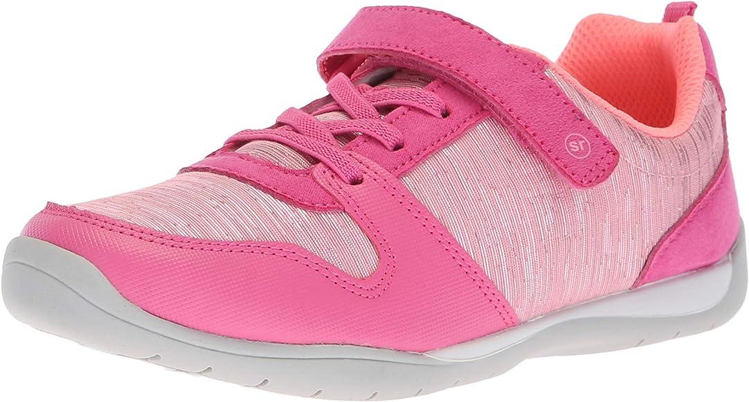 Stride Rite Girls' Avery Sneaker, Pink