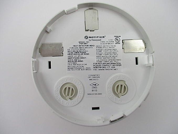 Amazon.com: Notifier FST-951 - Fixed Temperature Thermal Sensor - White: Camera & Photo