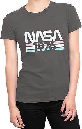 Nasa Camiseta para Mujer: Amazon.es: Ropa y accesorios