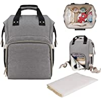 WOT I Large Capacity Diaper Bag Backpack