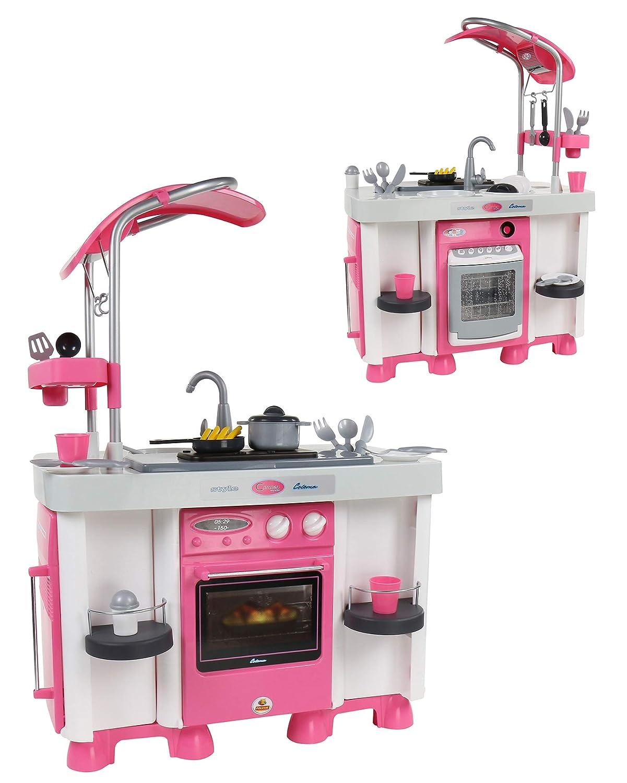 Kinderküche beidseitig bespielbar - polesie Carmen Küche