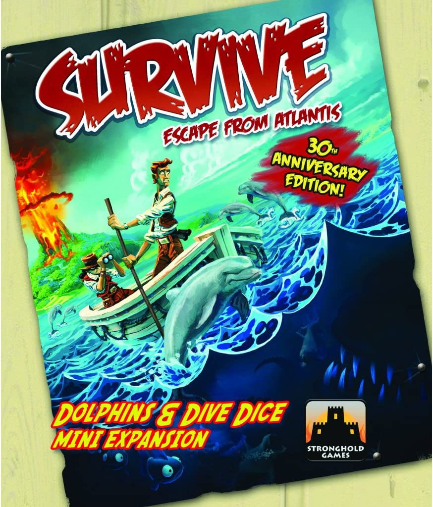 Survive Dolphins & Dive Dice Mini Expansion: Amazon.es: Juguetes y ...