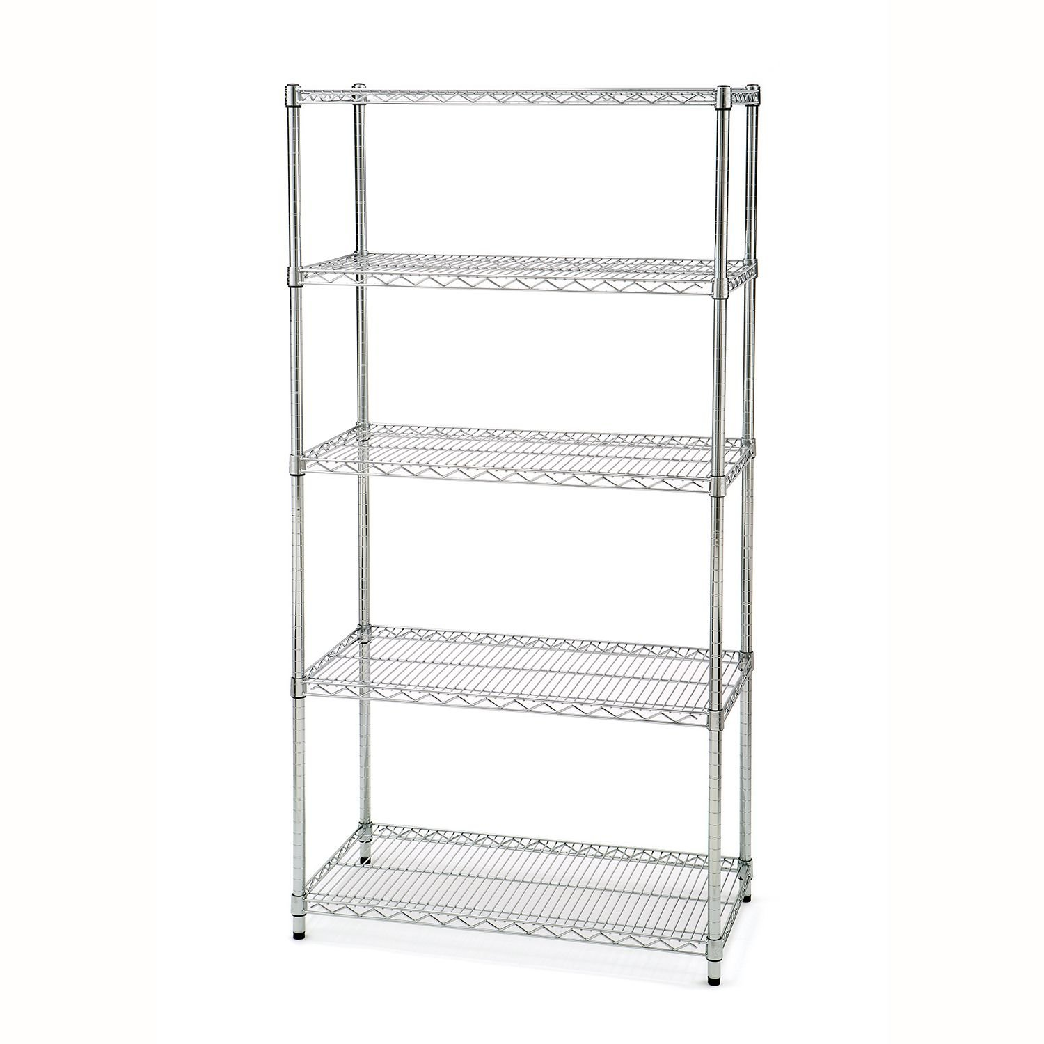 Seville Classics 5-Tier Commercial Shelving with Wheels by Seville Classics (Image #2)