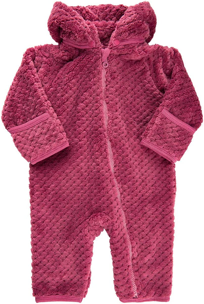 MINYMO Baby M/ädchen Wagenanzug Overall aus weichem Pl/üschfell