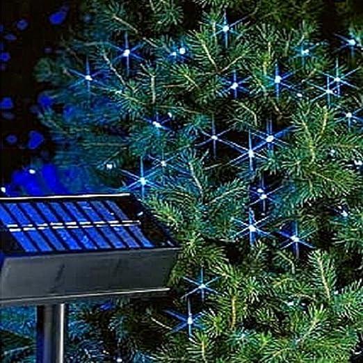 LD Weihnachten Deko 400 LED lichterkette Navidad Solar guirnalda de luces exterior iluminación Jardín Multicolor: Amazon.es: Jardín