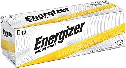Amazon.com: Energizer EN93 Industrial C 12 - Pilas alcalinas ...