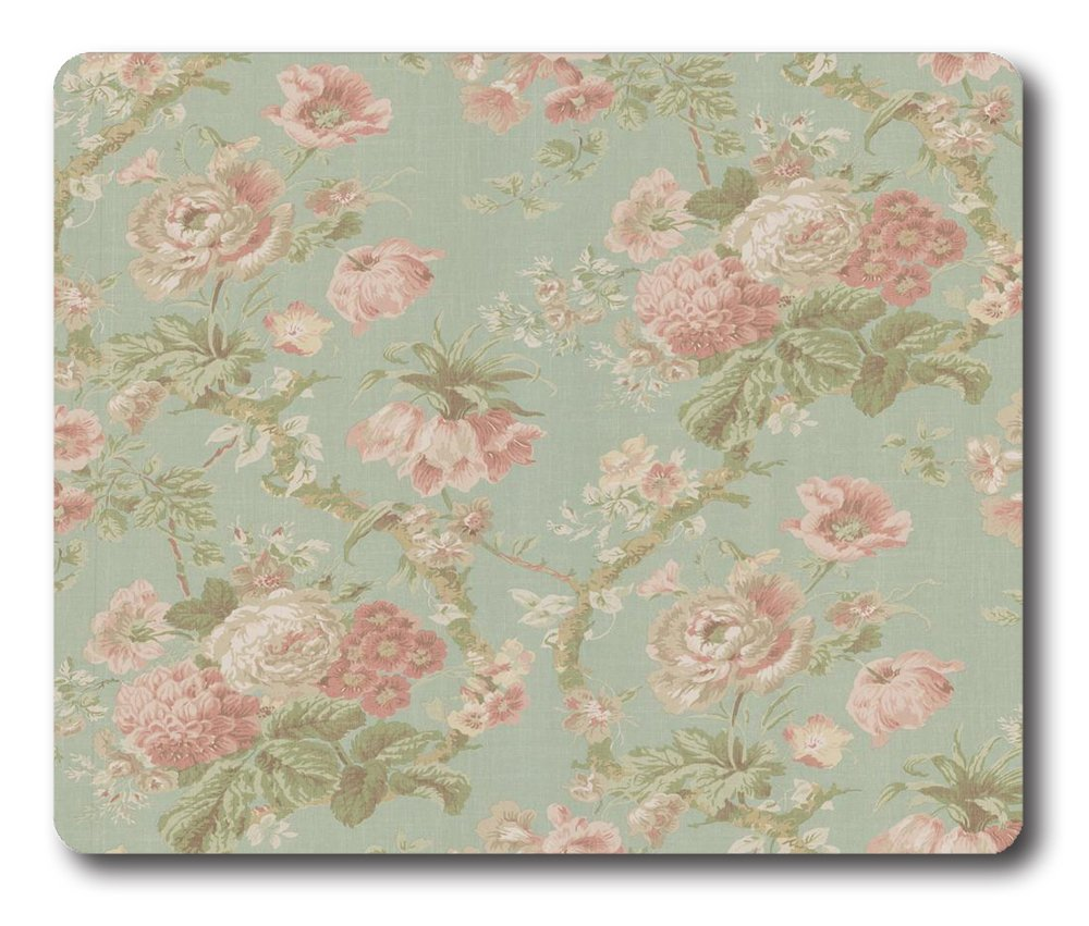 Floral Tumblr Backgrounds Square Gel Printing Pads Mouse Pad