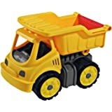BIG Power Worker Mini Kipper De plástico vehículo de Juguete - Vehículos de Juguete (De plástico, Amarillo, Niño, 100 mm, 160 mm, 120 mm)