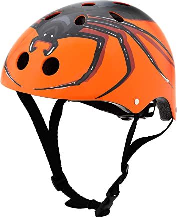 Hornit ini Spider - Casco de Bicicleta para niños: Amazon.es: Deportes y aire libre