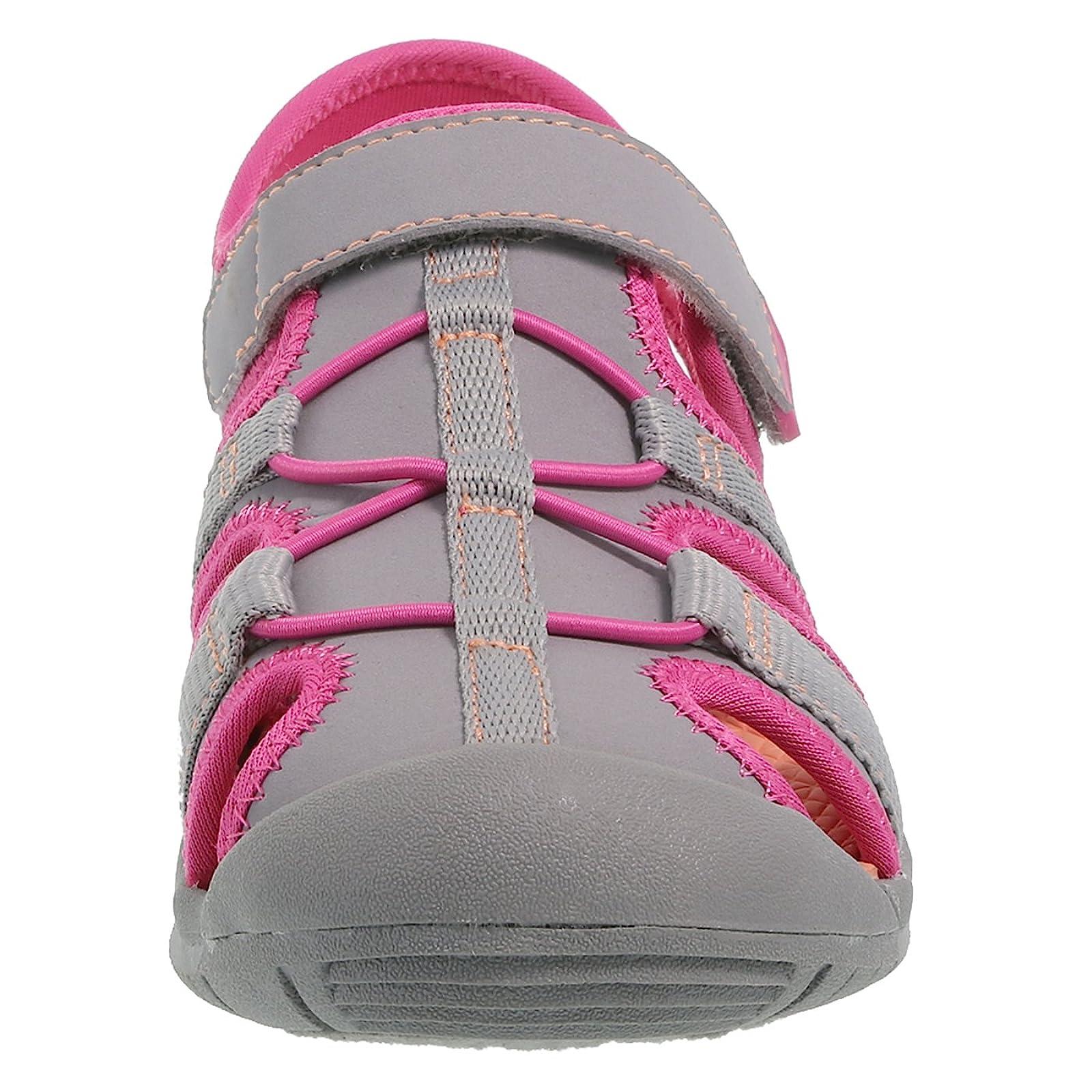 Rugged Outback Grey Pink Girls' Marina Bumptoe 175191040 - 3