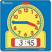 Learning Resources Relojes de Estudiante borrables, Set de 10