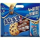 趣多多 巧克力曲奇饼干原味285g+95g
