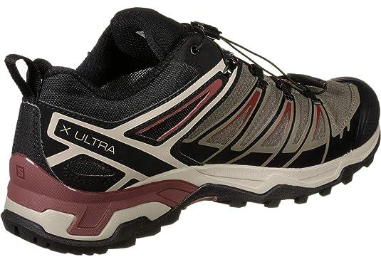 Salomon X Ultra 3 GTX, Zapatillas de Senderismo para Hombre, Negro ...