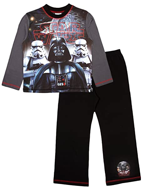 Pijama de Star Wars, de Disney, para niños Negro Star Wars - Darth Vader
