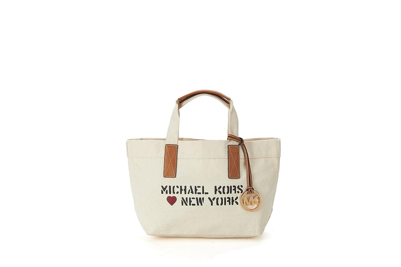 MICHAEL KORS マイケルコース バッグ アウトレット New York CITY TOTE レディース トートバッグ 35T7MT2T2R / 2color [並行輸入品] B077ZQSH2J Natural Natural