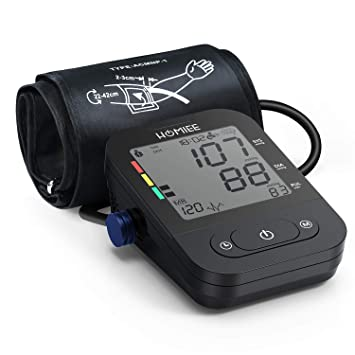 "Automatic Blood Pressure Machine, Heart Rate Monitor with 2.4"" Large LCD Display, 2"
