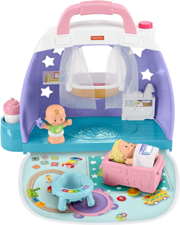 Fisher Price Little People Bebés Nursery (Mattel Gkp70): Amazon.es: Juguetes y juegos